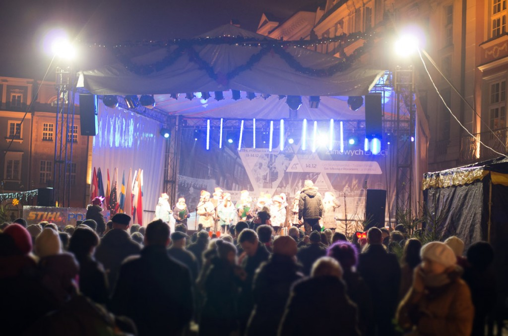 Poznańskie Betlejem scena